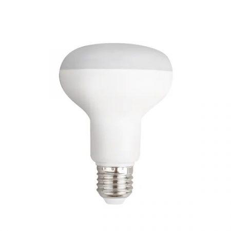 LED izzó R80 E27 12W meleg fehér