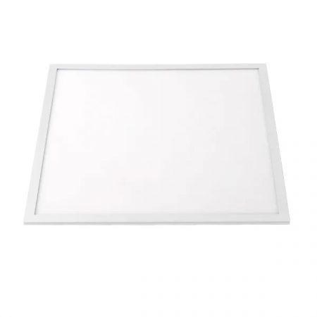 LED panel 50W hideg fehér 600x600 feher keret