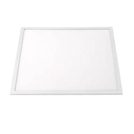 LED panel 600x600 40W hideg fehér feher keret