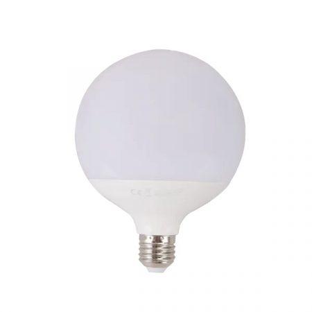 AIGOSTAR LED izzó G120 18W E27 foglalattal meleg fehér