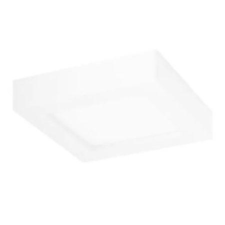 AIGOSTAR LEDES lámpa E5 12W négyszögletes meleg fehér
