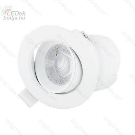 AIGOSTAR LED beépíthető lámpa E6 5W hideg fehér állítható
