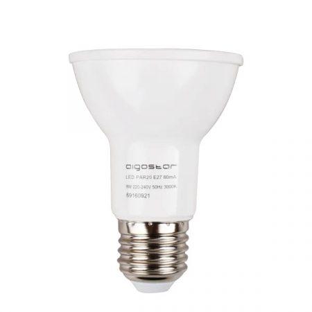 LED izzó PAR20 CCOB 8W E27 Meleg fehér