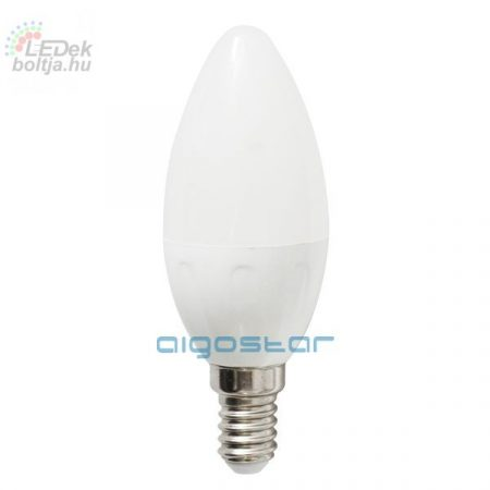 LED izzó C37 E14 3W 270° hideg fehér