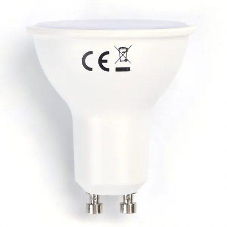 AIGOSTAR LED spot, 4W SMD, GU10, meleg fehér