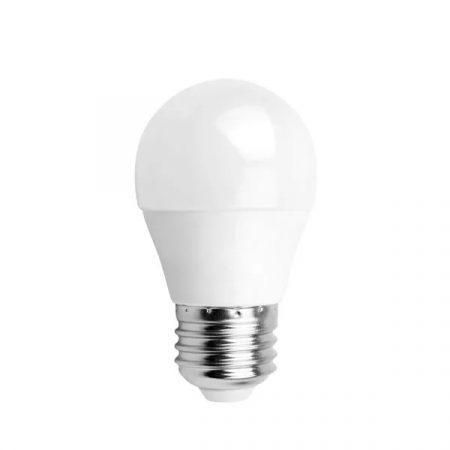 LED izzó G45 E27 5W 280° meleg fehér