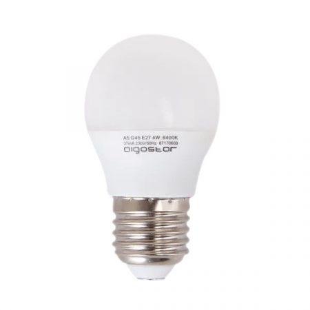 AIGOSTAR LED izzó G45 E27 5W 280° hideg fehér