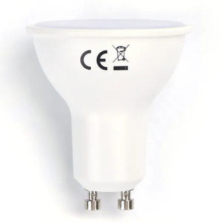 LED izzó GU10 SMD 6W meleg fehér