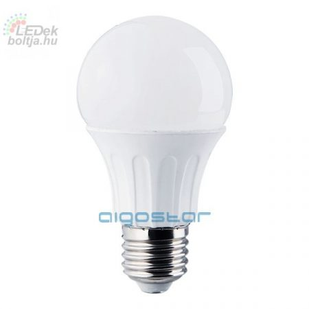 LED izzó E27 12W hideg fehér 280° szórásszögű