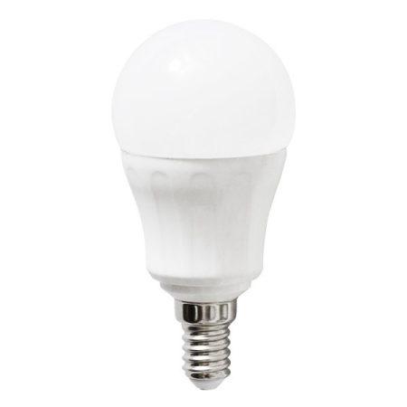 LED izzó P45 E14 7W 180° meleg fehér