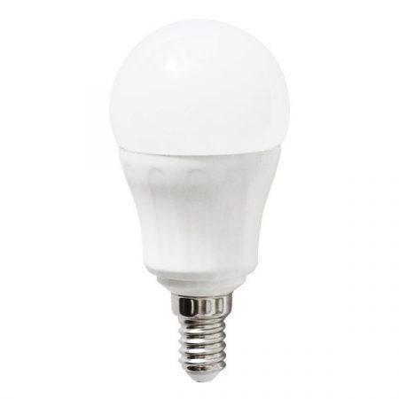 AIGOSTAR LED izzó P45 E14 7W, 280°, meleg fehér