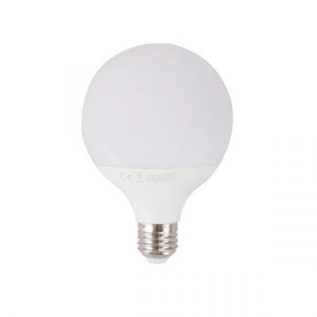 LED izzó G95 E27 15W hideg fehér
