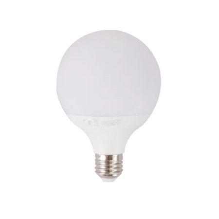 AIGOSTAR LED izzó G95 15W E27 foglalattal meleg fehér