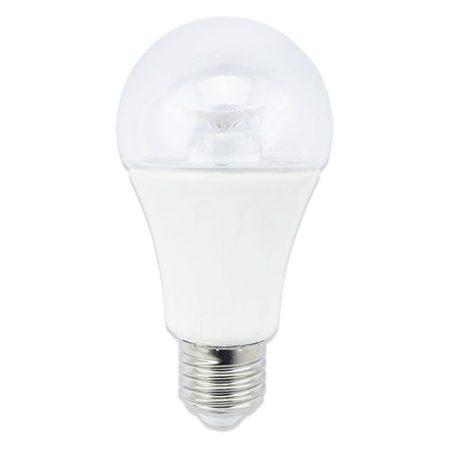 LED izzó A60 E27 8W 280° meleg fehér fényprizmás