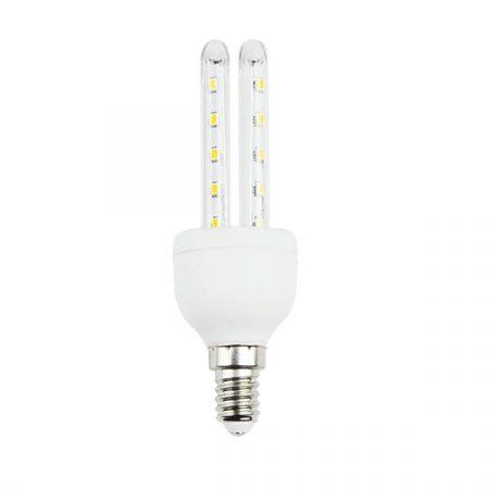 AIGOSTAR Kukorica LED izzó T3 2U E14 6W meleg fehér