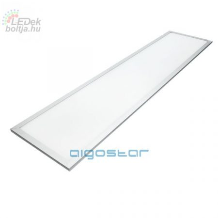 LED panel 300x1200 40W természetes fehér ezüst szürke kerettel