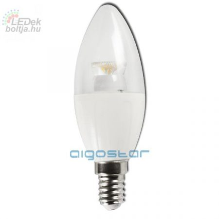 AIGOSTAR LED izzó C37 E14 6W 280° hideg fehér