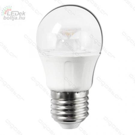 LED izzó G45 E27 5W 270° hideg fehér fényprizmás