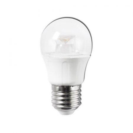 LED izzó G45 E27 5W 270° meleg fehér fényprizmás
