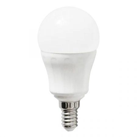 AIGOSTAR LED izzó P45 E14 6W 180° meleg fehér