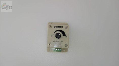Dimmer LED szalagokhoz 96W 8A potméterrel