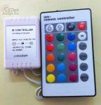 RGB vezérlő, infrás távkapcsolóval
