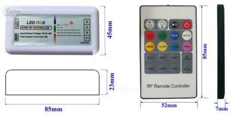 RGB vezérlő 20 gombos