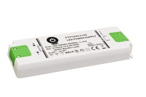 POS Led tápegység FTPC-60-C1400 59.9W 21-42.57VDC 1400mA