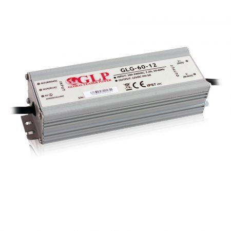 GLP Led tápegység GLG-60-12 60W 12V 5A IP67