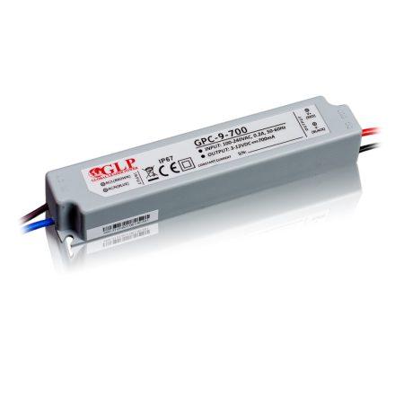 GLP Led tápegység GPC-9-C700 8.5W 3-12V 700mA