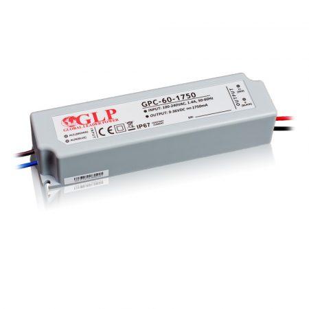 GLP Led tápegység GPCP-60-1750 63W 18-36V 1750mA