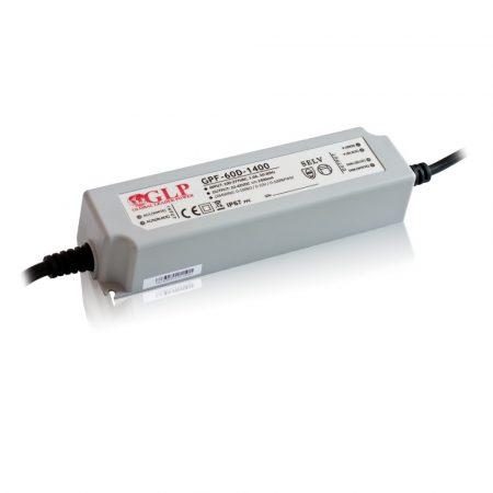 GLP Led tápegység GPF-D60-C2100 dimmelhető 58.8W 14-28V 2100mA