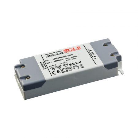 GLP Led tápegység GTPC-15-12 15W 12V 1.25A