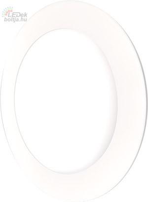 GREENLUX Mini Led Panel VEGA kör lámpa Fehér keret 12W Meleg fehér