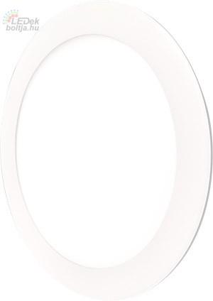 GREENLUX Mini Led Panel VEGA kör lámpa Fehér keret 18W Meleg fehér