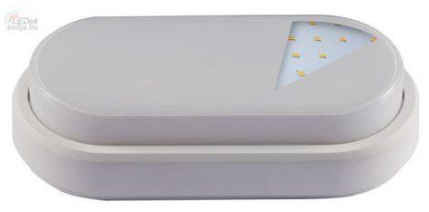 GREENLUX LEDES falra szerelhető kültéri lámpa LUCY-O 12W Természetes fehér