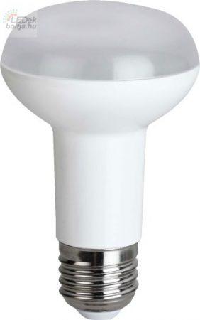 LED izzó R63 E27 7W Meleg fehér Greenlux