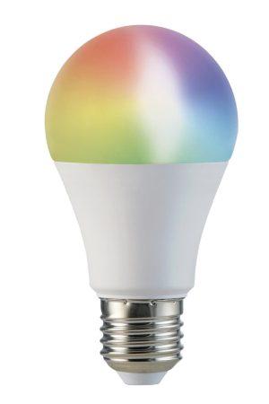 WiFi LED izzó A60 E27 10W RGB