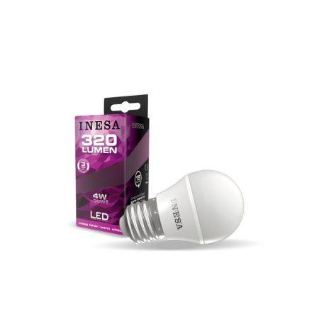 LED izzó E27 4W 160° LED izzó 4000K G3 320Lm
