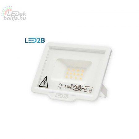LED2B MH LED REFLEKTOR 10W 6000K IP65 FEHÉR
