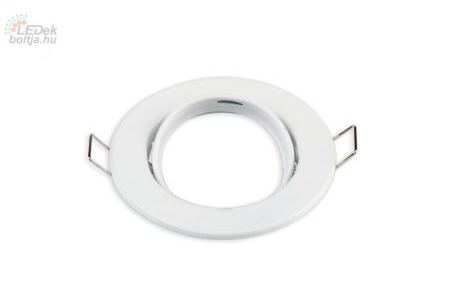 Spot lámpatest kerek  Fehér állítható