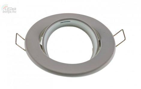 Spot lámpatest kerek inox állítható