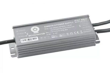 POS Led tápegység MCHQB-100-24 98.4W 24V 4.1A IP67 dimmelhető