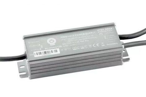 POS Led tápegység MCHQB-40-12 40W 12V 3.3A IP67 dimmelhető