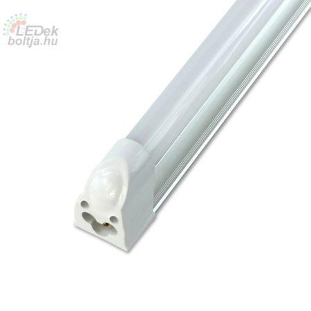 LED fénycső, T5, 87cm, 12W, 230V, matt búra
