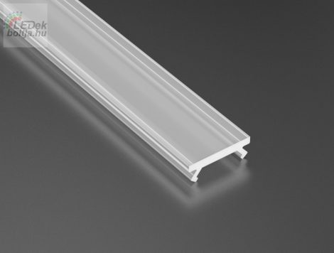 Opál PMMA takaróprofilok Keskeny 1 méteres profilokhoz