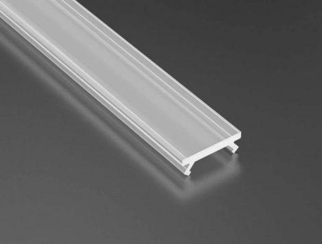 Opál PMMA takaróprofilok Keskeny 2 méteres profilokhoz